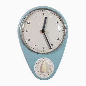 Orologio vintage da cucina di Max Bill per Junghans Meister