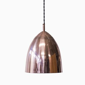Swedish Copper Pendant Lamp from ASEA, 1960s