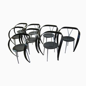 Revers Dining Chairs by Andrea Branzi for Cassina, 1997, Set of 8