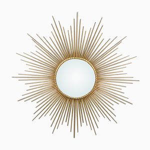 Vintage Sunburst Mirror from Chaty Vallauris