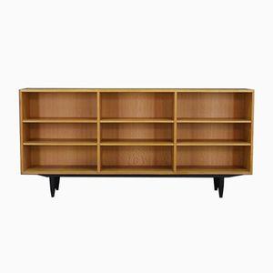 Dänisches Vintage Esche Furnier Sideboard von Carlo Jensen für Hundevad & Co.