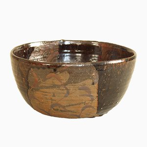 Large Seto Chawan Bowl, 1930s