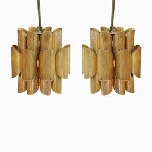 Vintage Deckenlampen von Thorsten Orrling fü Hans-Agne Jakobsson, 2er Set