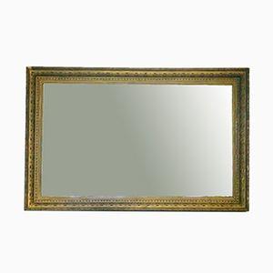 Vintage Spiegel mit Goldfarbenem Holzrahmen