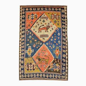 Antique Gabbeh Carpet, 1880s