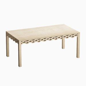 Table en Planches de Chêne par Mario Alessiani pour Dialetto Design