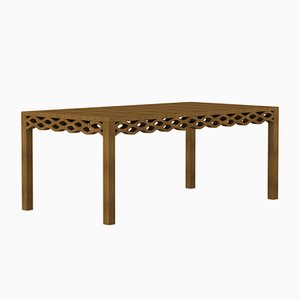 Walnut Plank Table by Mario Alessiani for Dialetto Design