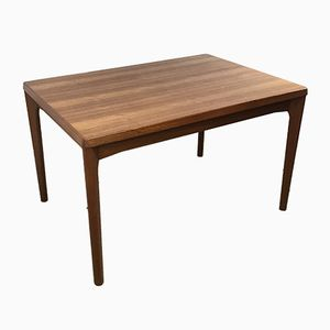 Danish Extendable Teak Dining Table by Henning Kjaernulf for Vejle Stole Møbelfabrik, 1960s