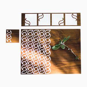 Tovagliette Eatchic 2 di Orma, 2006, set di 3