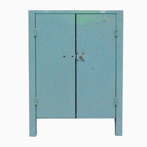 Vintage Industrial Workshop Cabinet