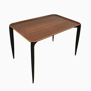 Mid-Century Teak Side Table by Sven Aage Willumsen & H. Engholm for Fritz Hansen