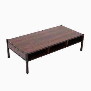 Italian Rosewood Coffee Table, 1960s