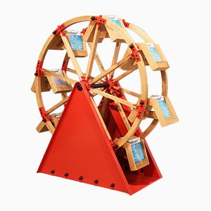 The Wheel Shelf by Vladimir Kagan for H Furniture, 2016