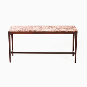 Designer konsolentische online kaufen bei pamono for Holztisch mit marmorplatte