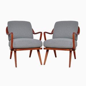 Sessel von Walter Knoll/ Wilhelm Knoll, 1950er, 2 Set