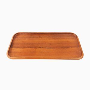 Vintage Teak Tray by Karl Holmberg for Götene