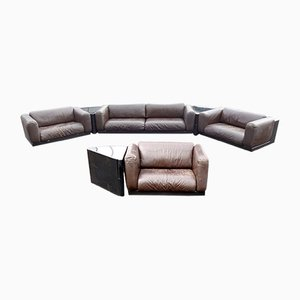 Gradual Sectional Sofa System by Cini Boeri for Gavina Knoll, 1970s, Set of 7