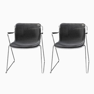 Penelope Chairs by Charles Pollock for Castelli, 1982, Set of 2