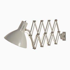 Industrielle Vintage 110 Scherenwandlampe von H. Th. J. A. Busquet für Hala, 1960er