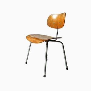 SE 68 Teak Stuhl von Egon Eiermann für Wilde & Spieth, 1960er