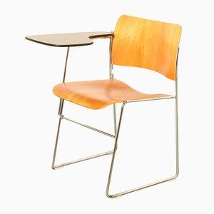 Vintage 40/4 Stuhl & Kirschholz Schreibplatte von David Rowland für Howe