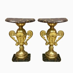 Console Tables, Set of 2