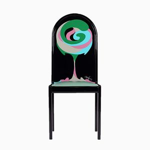 The 4 Cardinal Points Chair by Bjørn Wiinblad for Rosenthal, 1976