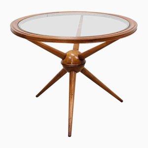 Runder Mid-Century Sputnik Couchtisch