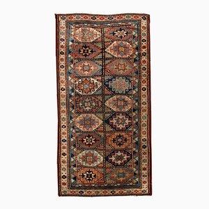Antique Handmade Caucasian Kazak Mohan Rug, 1880s