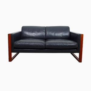 2-Seater Leather Sofa from Walter Knoll, 1960s