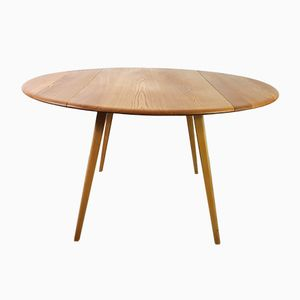 Mid-Century Drop Leaf Table by Lucian Ercolani for Ercol