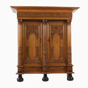 20th Century Dutch Oak Cabinet