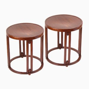 Nr. 728 Stools by Josef Hoffmann for Thonet, 1914, Set of 2