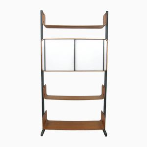 Mid-Century Veneer Book Shelf by Campo e Graffi for Home Torino