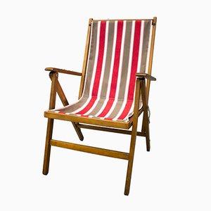 Strand-Liegestuhl von Fratelli Reguitti, 1950er