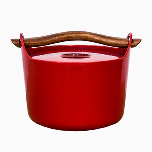 Cast Iron Cooking Pot by Timo Sarpaneva for Rosenlew, 1960s