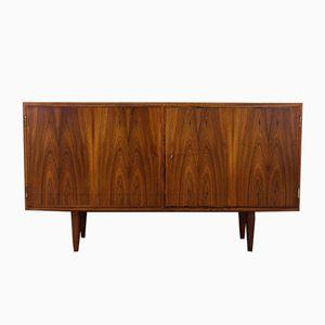 Vintage Rosewood Veneer Sideboard by Poul Hundevad for Hundevad & Co.