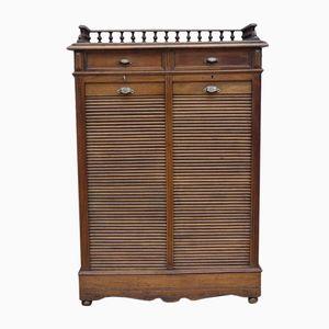 Mid-Century Oak Haberdashery Cabinet