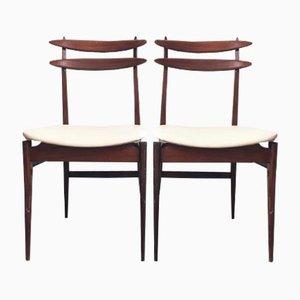 Italienische Stühle, 1950er, 2er Set
