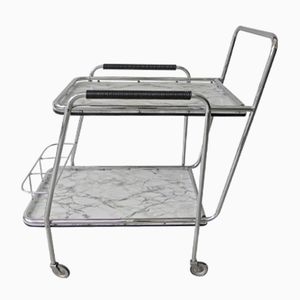 Vintage Serving Trolley with Formica Tops