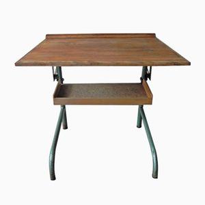 Tavolo industriale da disegno, anni '50