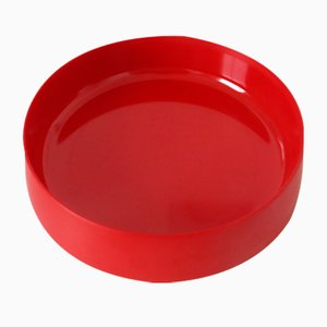 Red Melamine Dish by Kristian Vedel for Torben Ørksov, 1960s