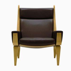 GE 501A Easy Chair by Hans J. Wegner for Getama, 1967
