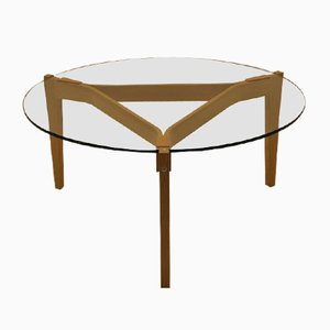 Vintage GE465 Coffee Table by Hans J. Wegner for Getama