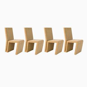 Easy Edges Sessel von Frank Gehry für Vitra, 2000, 4er Set