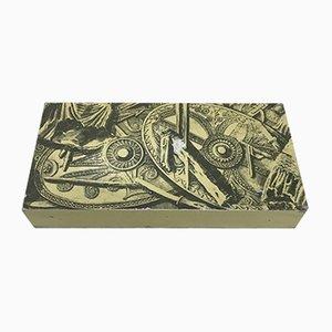 Enameled Box by Piero Fornasetti, 1950s
