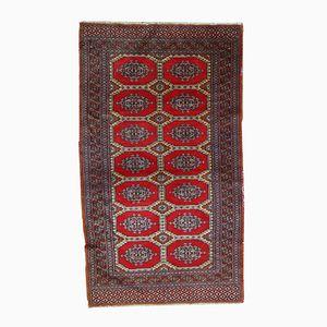Handgeknüpfter Vintage Handmade Uzbek Bukhara Teppich, 1970er