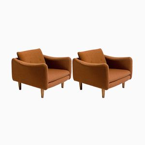 Teckel Lounge Chairs by Michel Mortier for Steiner, 1960s, Set of 2