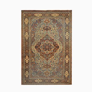 Antique Keshan Carpet, 1900s