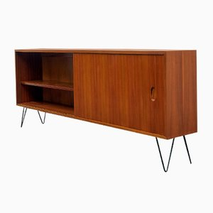 Vintage Walnuss Furnier Sideboard von Georg Satink